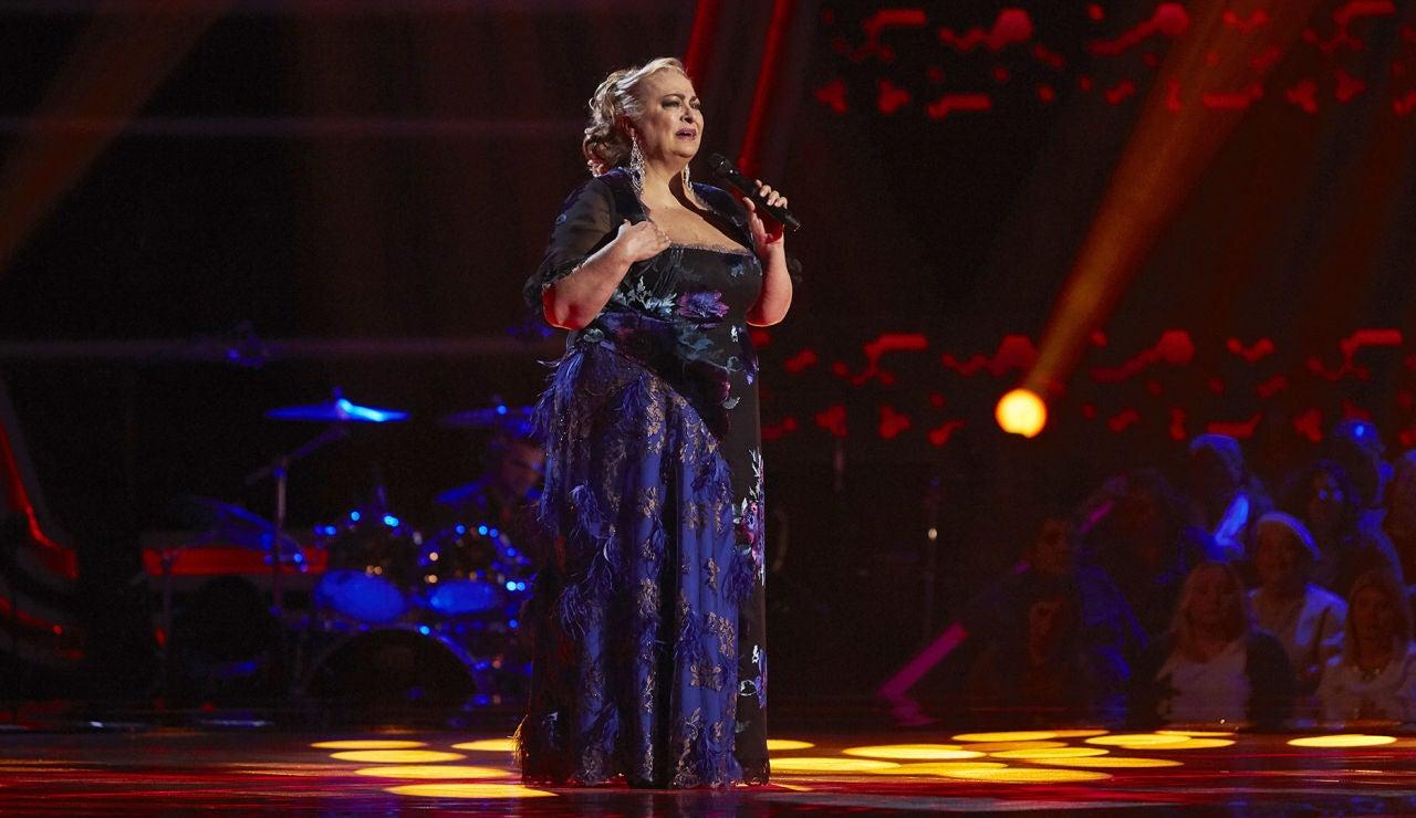 Soledad Luna canta 'Si amanece' en las Audiciones a ciegas de 'La Voz Senior'