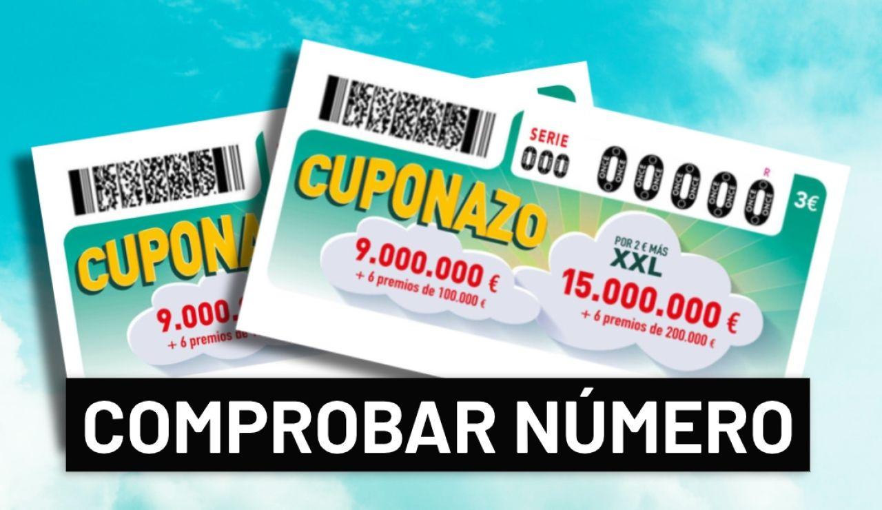 Sorteo ONCE: Comprobar número del Cuponazo de la ONCE y Super Once hoy en directo
