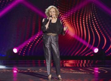 Elia Galán canta 'Soy lo prohibido' en las Audiciones a ciegas de 'La Voz Senior'