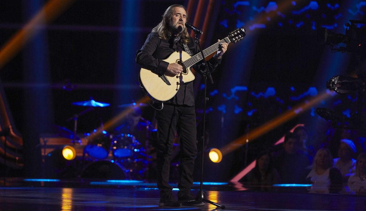 Joaquín Ascón canta 'Aunque tú no lo sepas' en las Audiciones a ciegas de 'La Voz Senior'