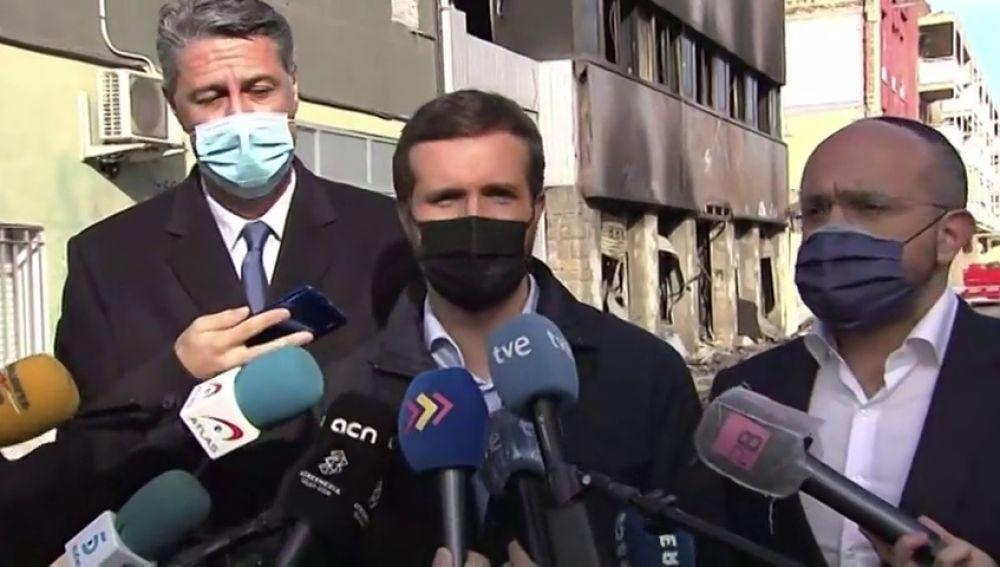 """Pablo Casado sobre la llamada que le hará Sánchez para la renovación del CGPJ: """"Responde un mes y medio después"""""""