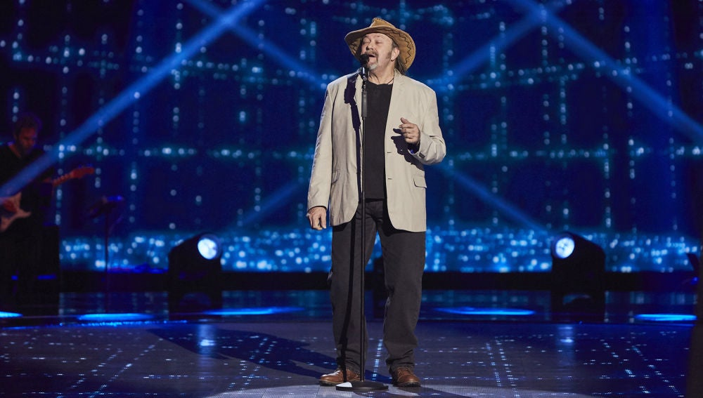 Fernando Demon canta 'A change is gonna come' en las Audiciones a ciegas de 'La Voz Senior'