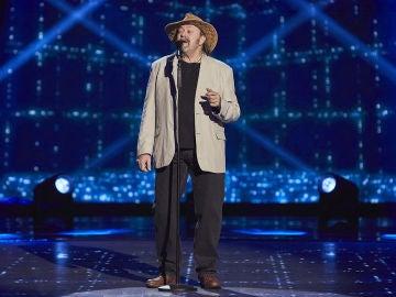 Fernando Demon canta 'A change is gonna come' en las Audiciones a ciegas de 'La Voz Senior'
