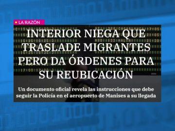 Interior niega que traslade migrantes pero da órdenes para su reubicación