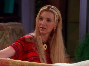 Lisa Kudrow como Phoebe en 'Friends'