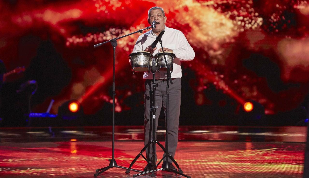 Fernando Liben canta 'Casi te envidio' en las Audiciones a ciegas de 'La Voz Senior'
