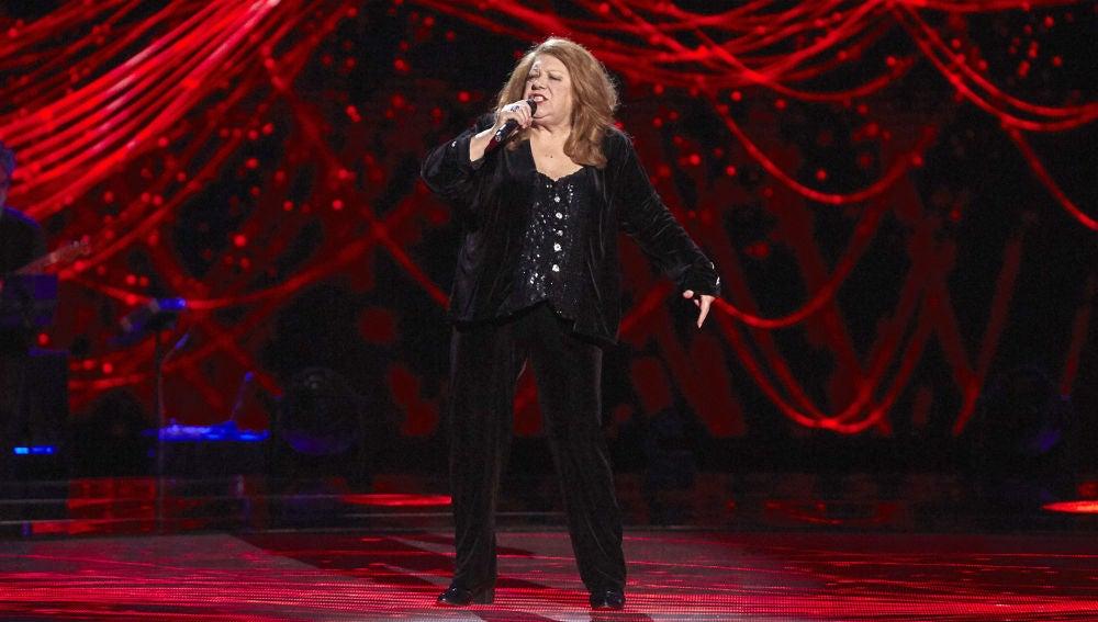 Pepita García canta 'Light my fire' en las Audiciones a ciegas de 'La Voz Senior'