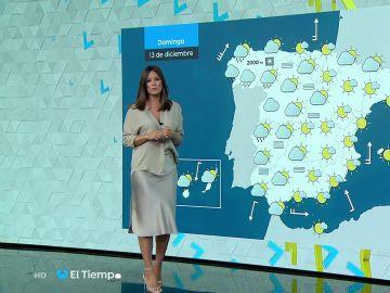 Tu Tiempo (12-12-20) Precipitaciones localmente persistentes en el Pirineo occidental y sierras del sureste