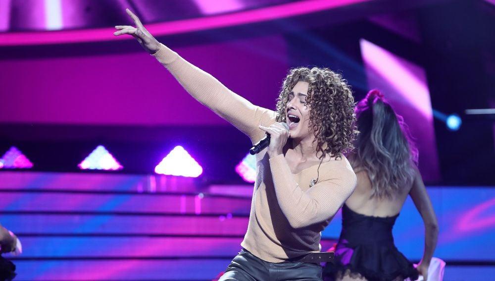 Jorge González se desahoga con 'Lloraré las penas' como David Bisbal