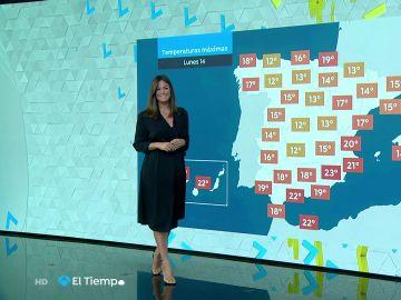 Tu Tiempo (13-12-20) Aumento de temperaturas excepto en el suroeste y litoral mediterráneo