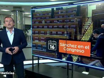 La semana comienza con una cargada agenda política con Pedro Sánchez en el Congreso