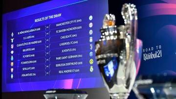 Duelos de octavos de final de la Champions League