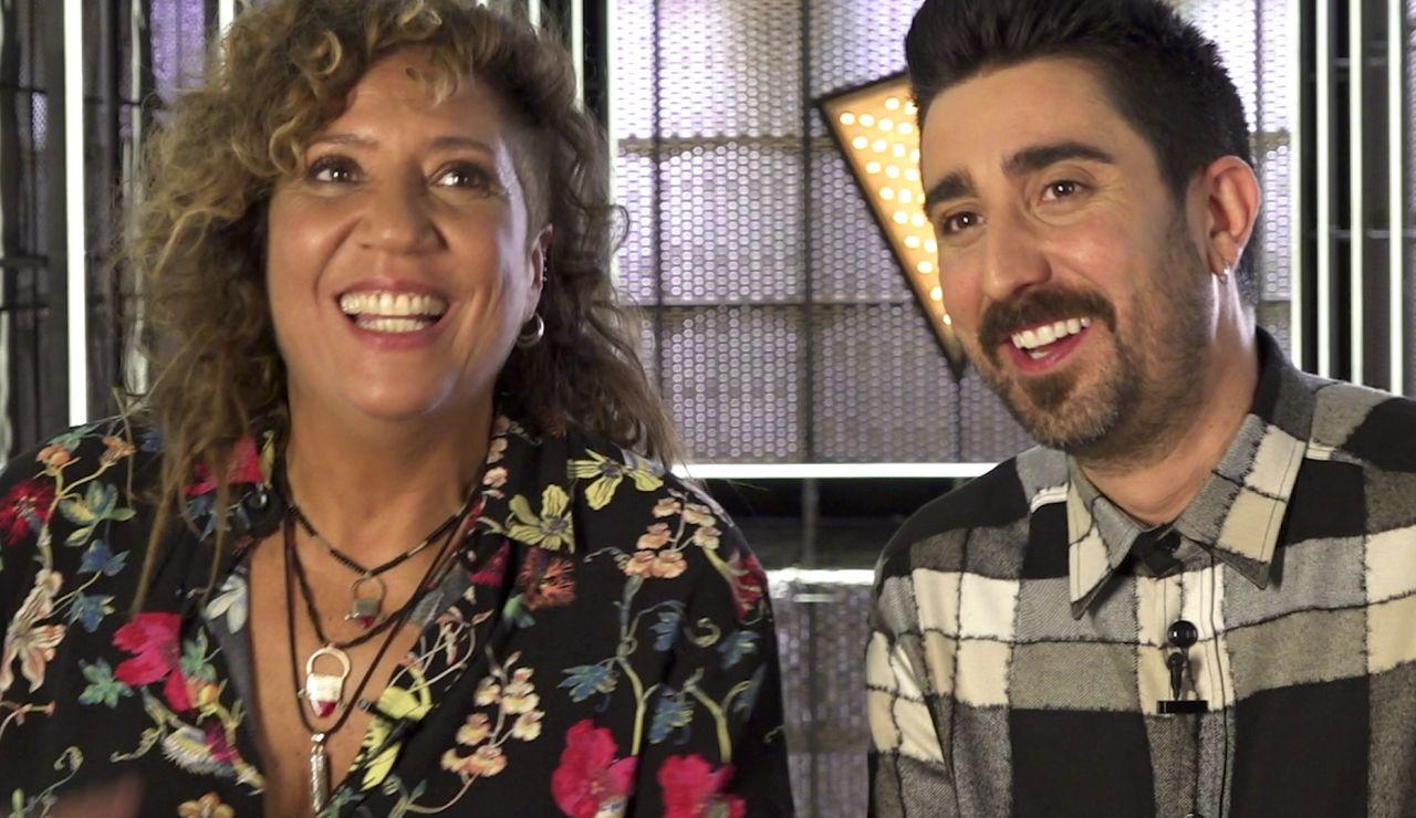 """Rosana y Álex Ubago se guían por el corazón: """"Somos focos para potenciar lo que ya existe"""""""