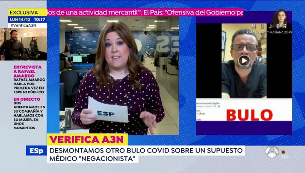 """Las afirmaciones negacionistas de un supuesto médico hondureño: """"Médicos del mundo, despierten"""""""