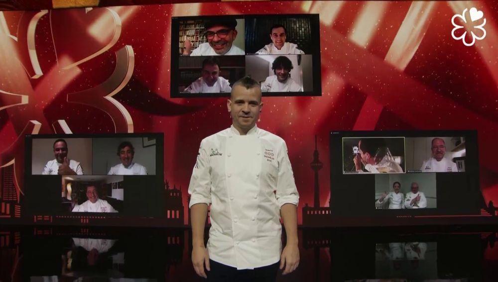 Los once chefs con tres estrellas Michelín