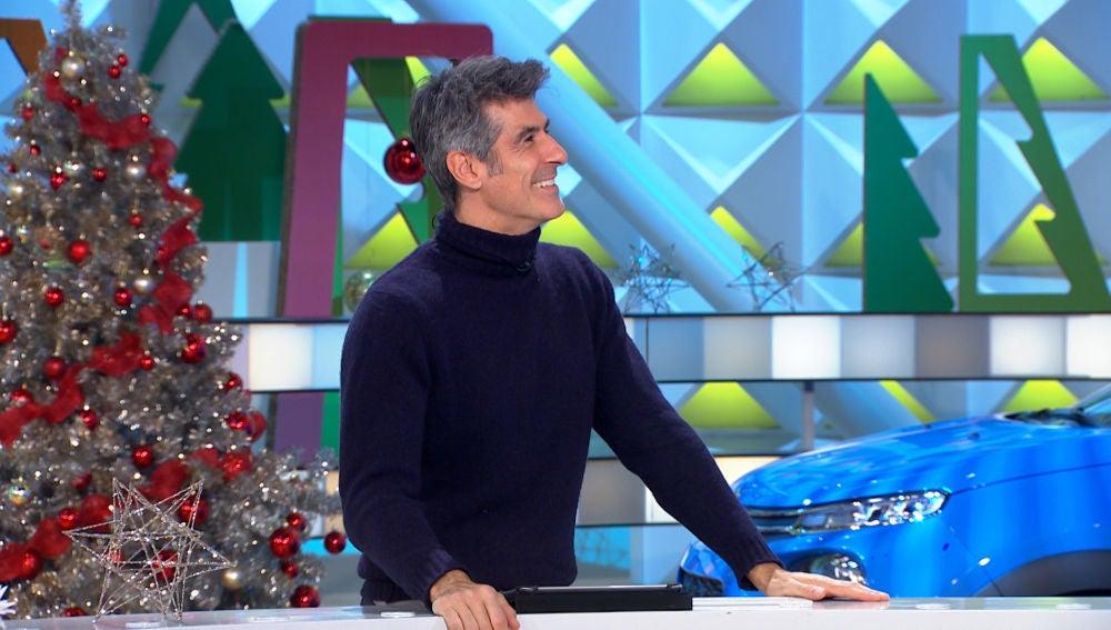 """Jorge Fernández se deshace en halagos con la banda de 'La ruleta de la suerte': """"¡Qué bien hecha, muchas felicidades!"""""""