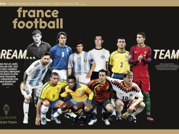 El mejor XI de la historia, según France Football