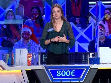 """La respuesta de Jorge Fernández a una concursante que quiere pagar por una consonante: """"Te la voy a regalar, por simpática"""""""