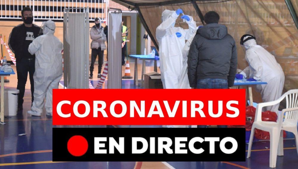 Coronavirus en España hoy: Última hora de las restricciones, las medias de Navidad y la vacuna, en directo