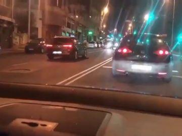 Identifican al conductor kamikaze que circuló en dirección contraria en la ciudad de A Coruña