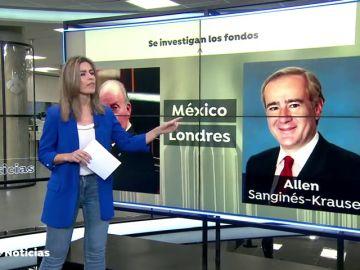 La fiscalía busca en México y Londres información sobre los fondos del rey Juan Carlos
