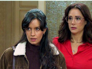 Loreto aparece en el despacho para dar respuestas a Manolita