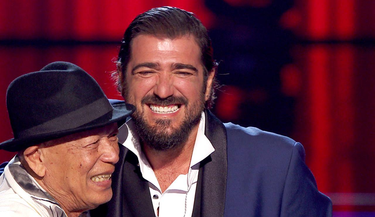 """La emotiva confesión de Antonio Orozco con Nico Fioole al reconocerle su """"admiración"""""""