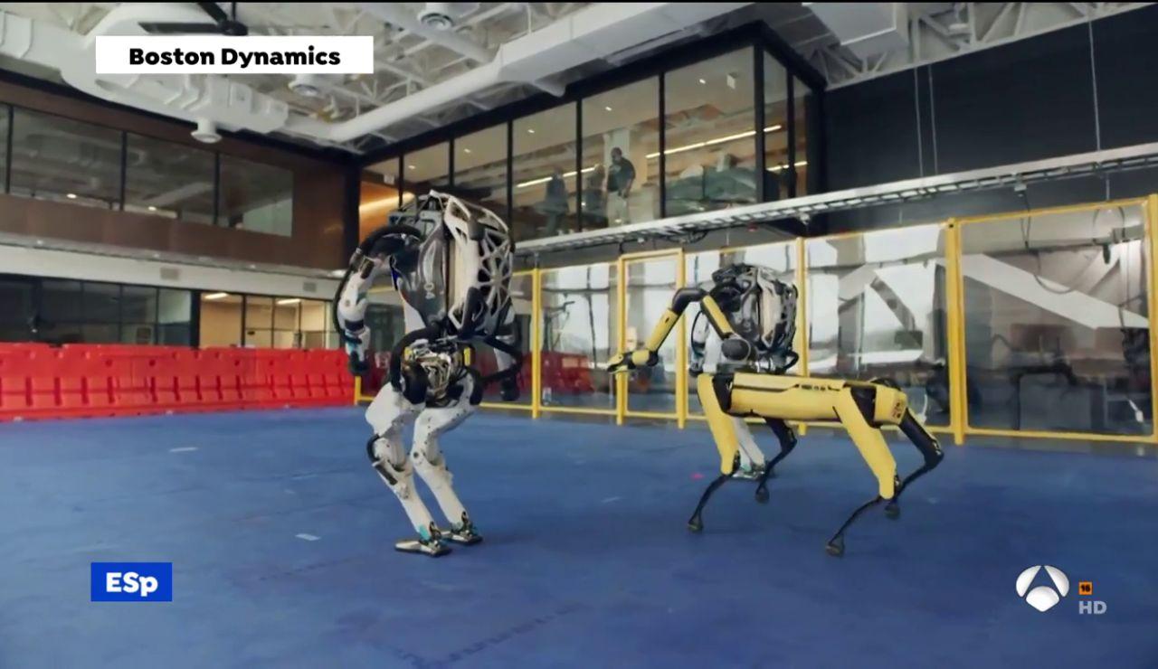 Una empresa enseña a bailar a sus robots y lo muestra en un vídeo