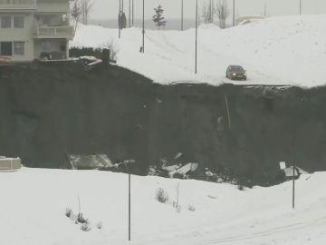 10 heridos por un desplazamiento de tierra en Noruega