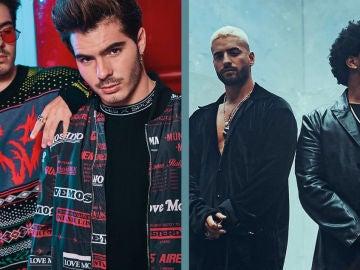 La transformación de Gemeliers en Maluma y The Weeknd