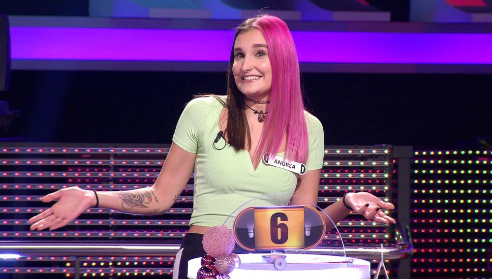 """""""Quiero un búnker"""": Andrea explica su raro objetivo con el dinero de '¡Ahora caigo!'"""