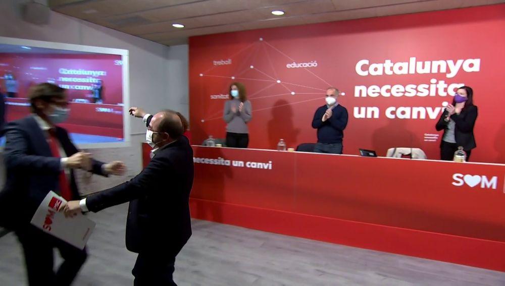 """Salvador Illa acepta la candidatura socialista a la Generalitat: """"Estoy preparado"""""""