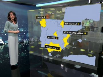 18 casos de la nueva cepa británica de coronavirus en España