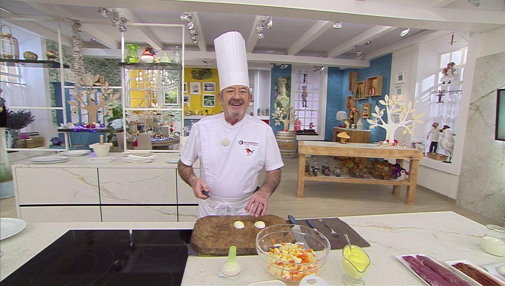 Las campanadas de Karlos Arguiñano a mediodía en Antena 3
