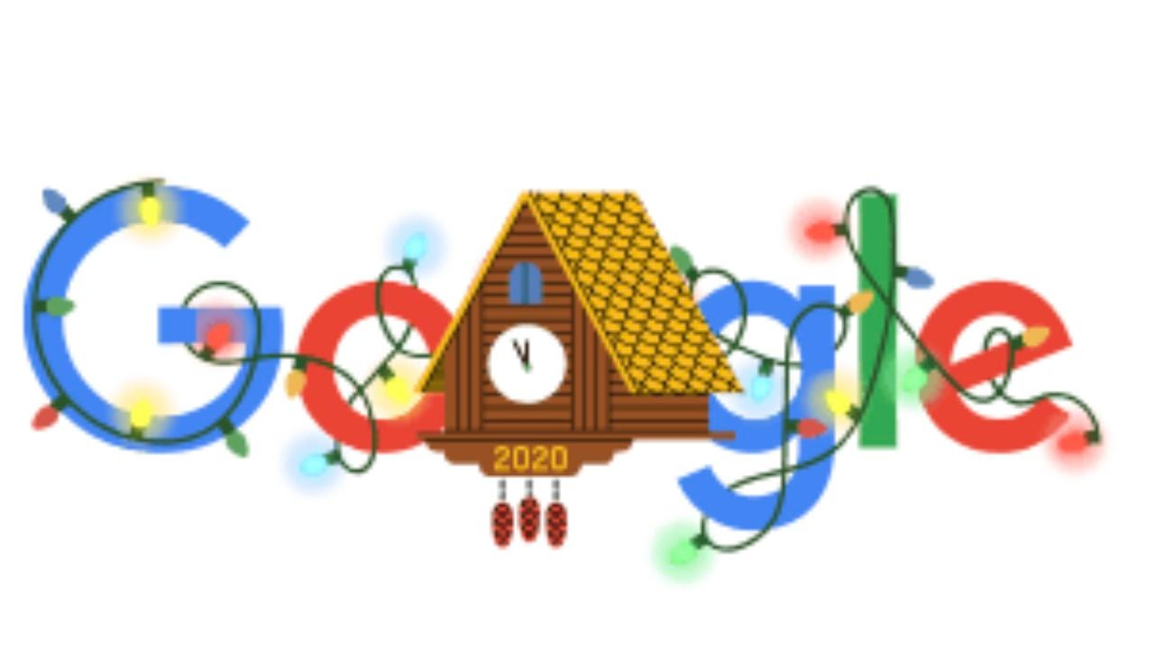 Doodle de Google en Nochevieja 2020