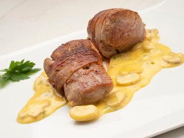 Karlos Arguiñano elabora la última receta del año: solomillo con salsa poulette