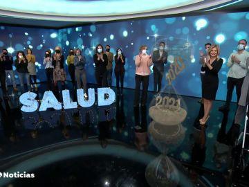 El mensaje de Sandra Golpe y el equipo de Antena 3 Noticias para despedir el 2020