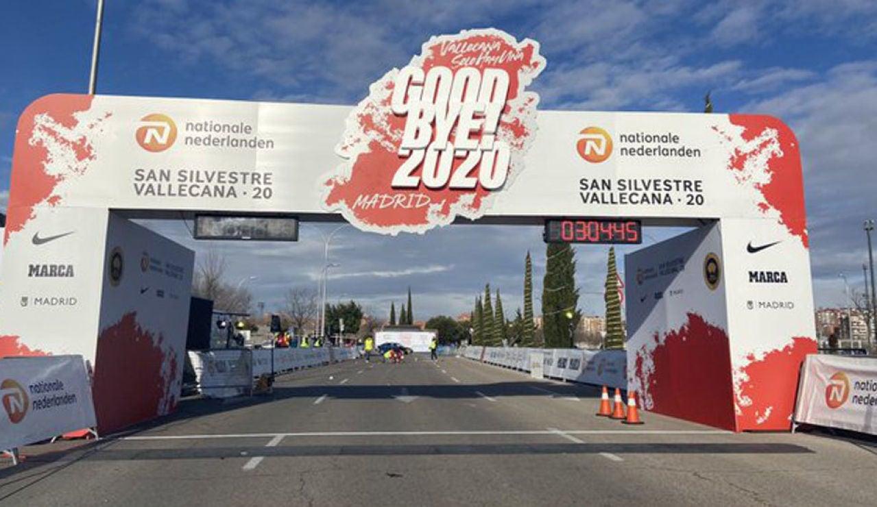 Meta de la San Silvestre Vallecana 2020