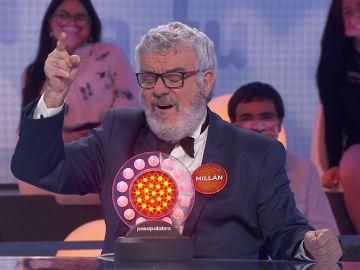 Millán Salcedo se viene arriba con 'The Final Countdown' en un duelo especial contra Joaquín Reyes