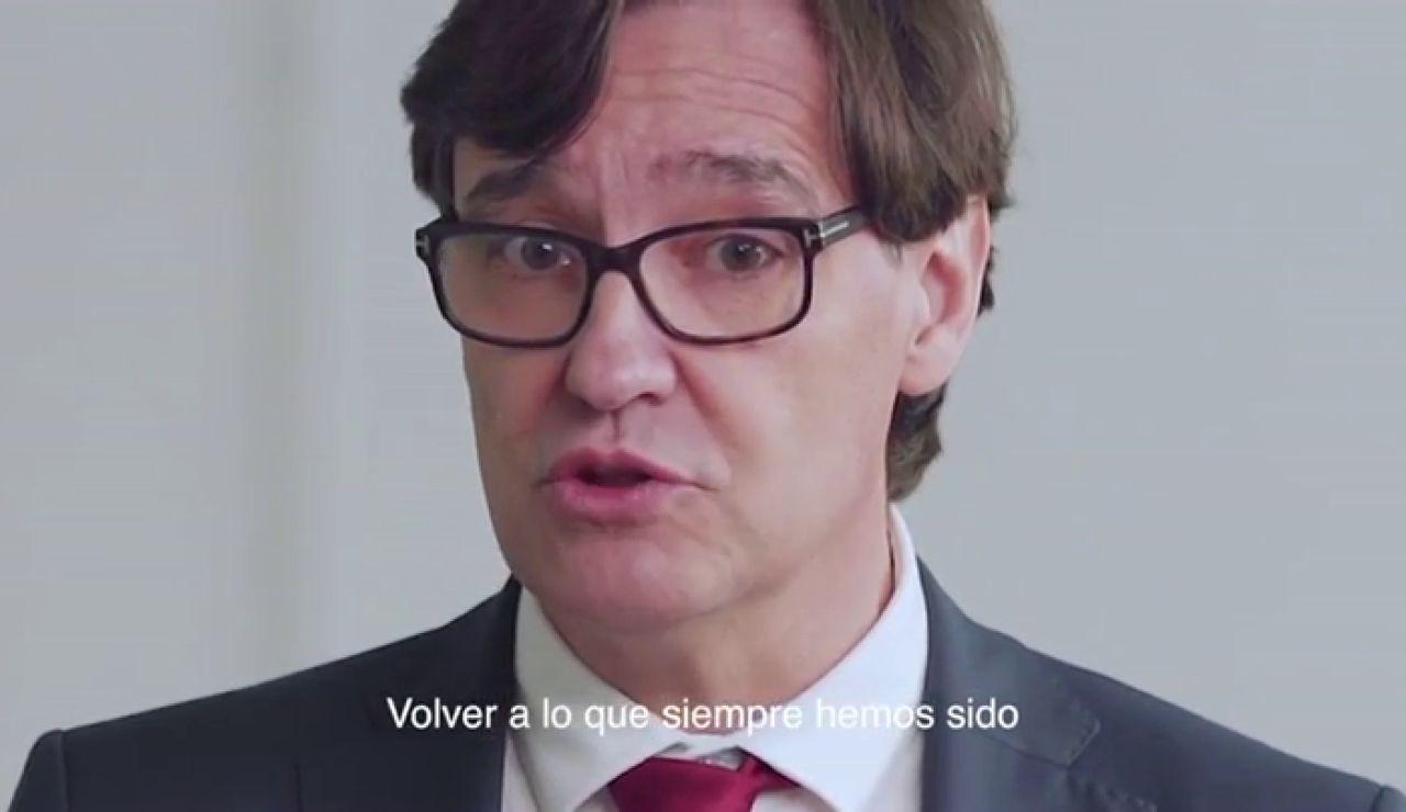 """Primer anuncio electoral de Salvador Illa como candidato a president: """"Cataluña parece desorientada, paralizada"""""""