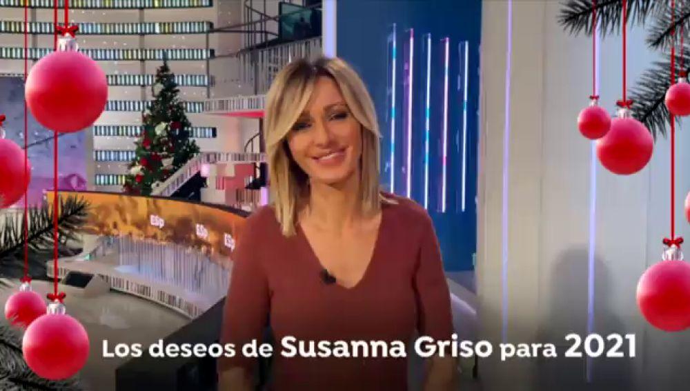 Susanna Griso revela sus deseos para el  nuevo año 2021