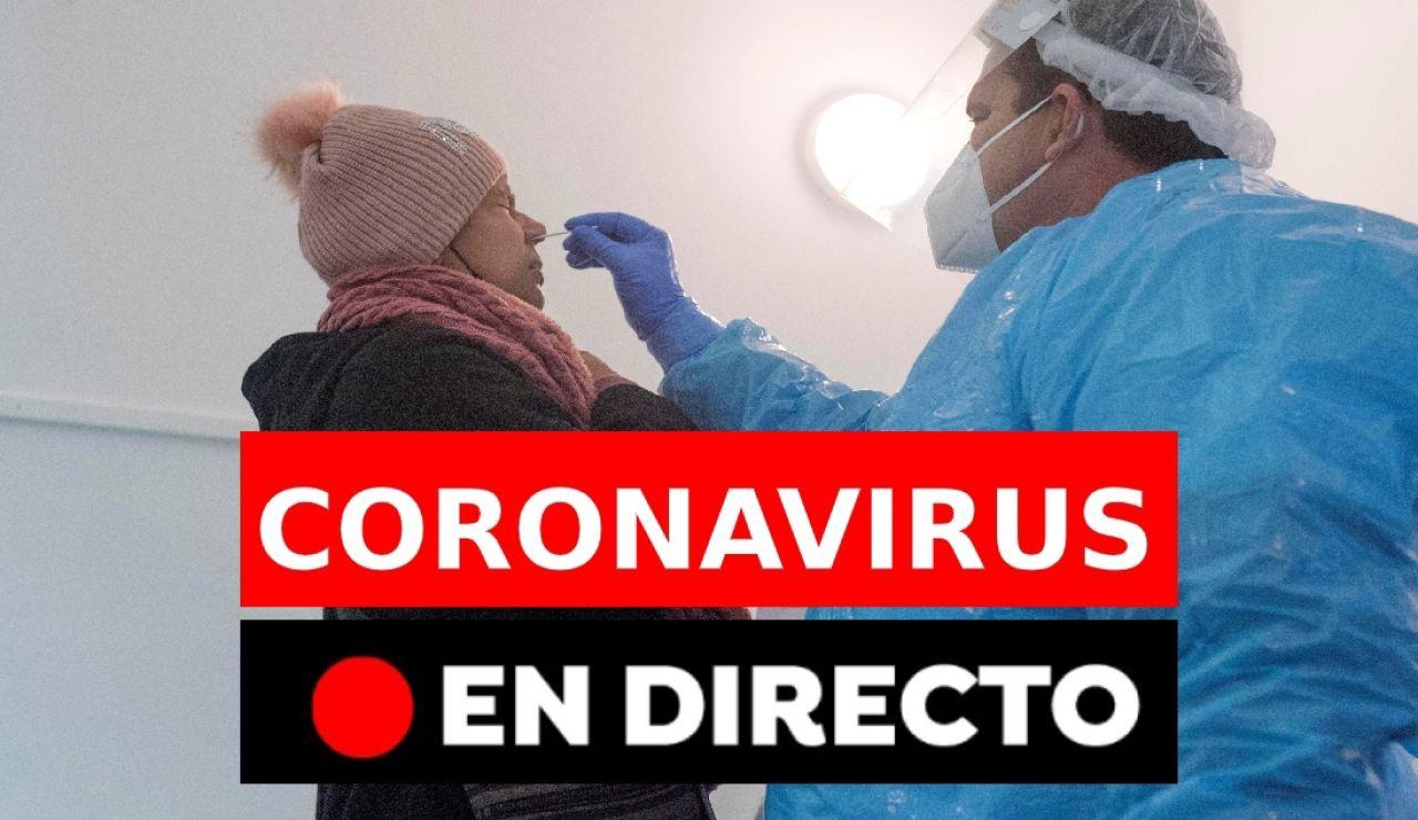 Coronavirus en España hoy: nueva cepa británica, contagios y restricciones en Nochevieja, en directo