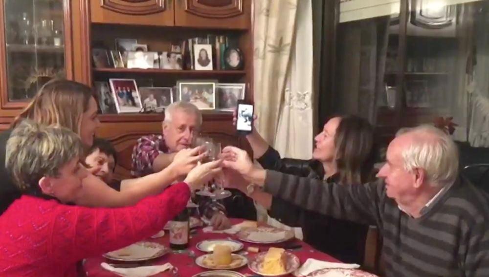 Videollamadas en Nochevieja a causa del coronavirus