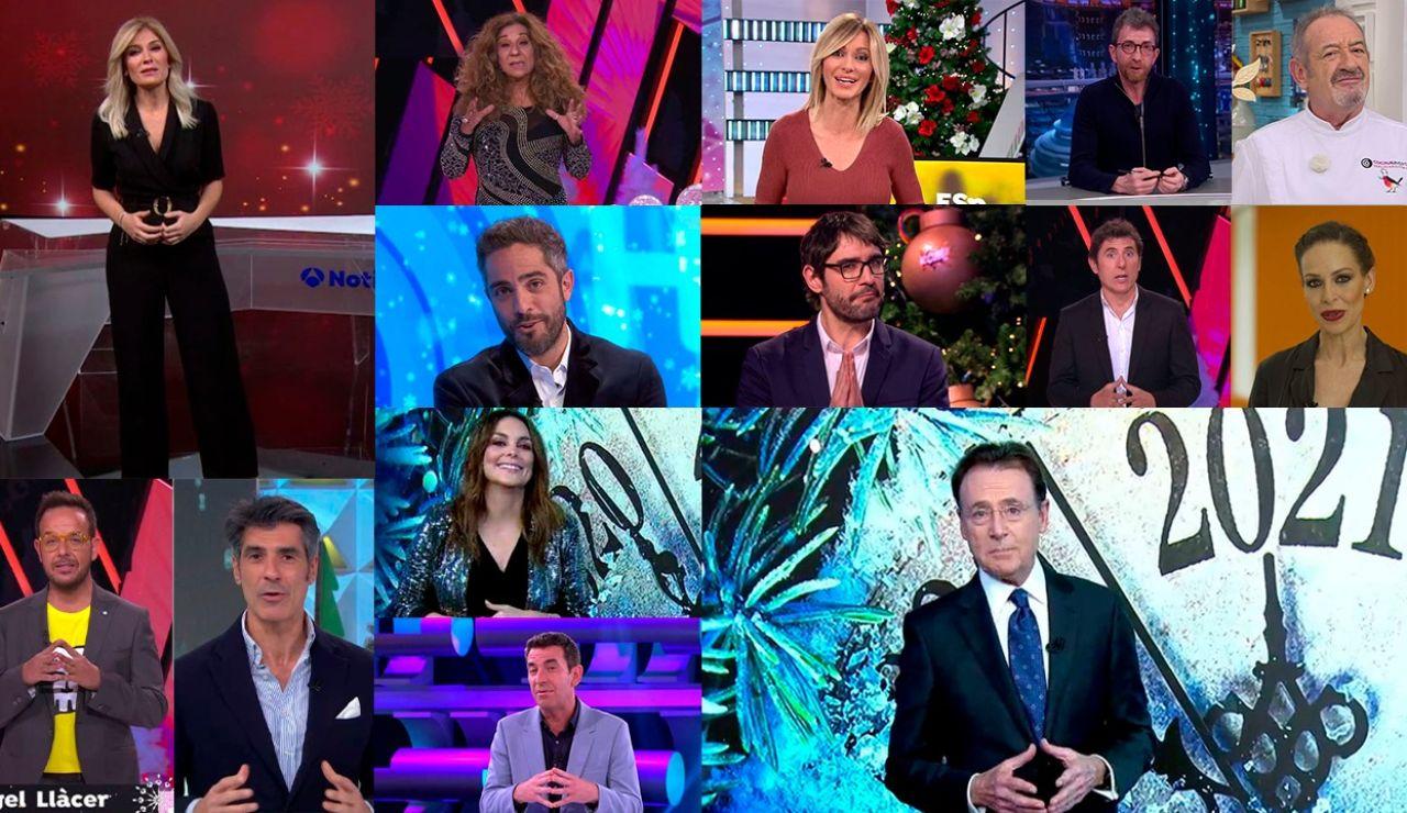 Presentadores de Atresmedia.