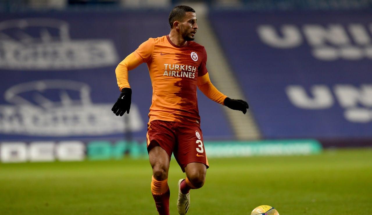 Omar Elabdellaoui, jugador del Galatasaray