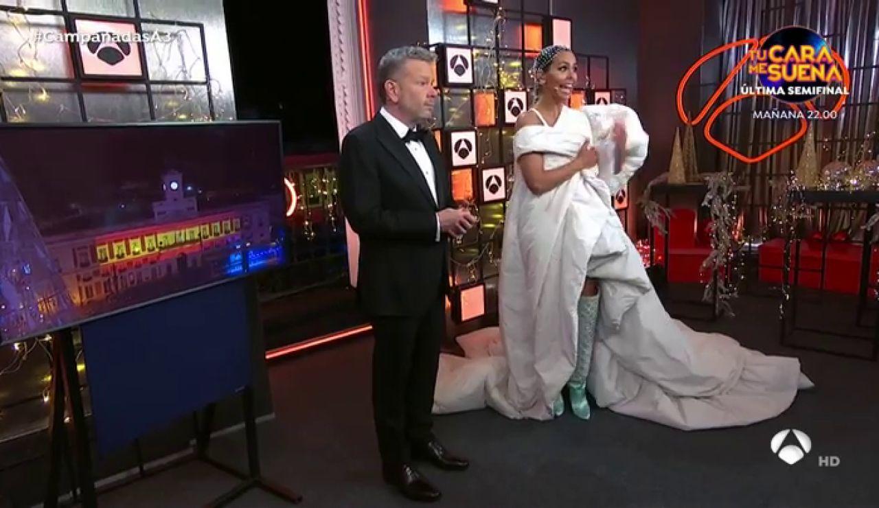 Las Campanadas 2020 con Cristina Pedroche y Alberto Chicote: así las han contado en Antena 3