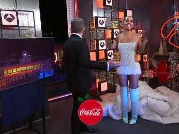 El vestido de Cristina Pedroche para las Campanadas de Antena 3