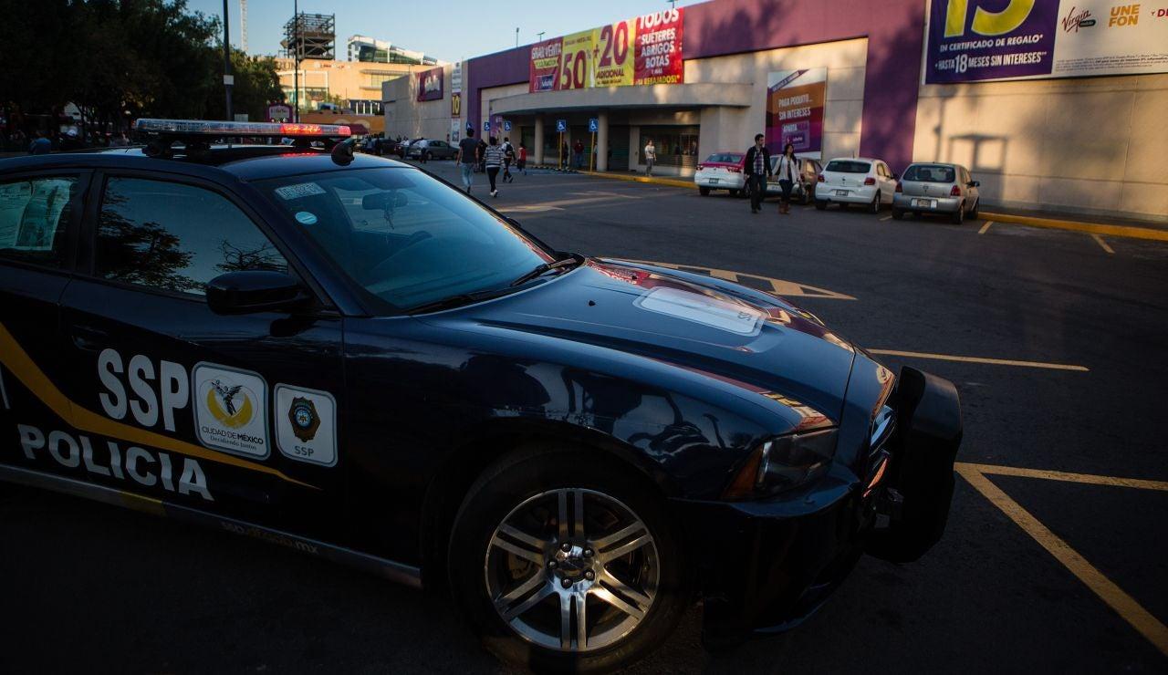 Coche de Policía en México