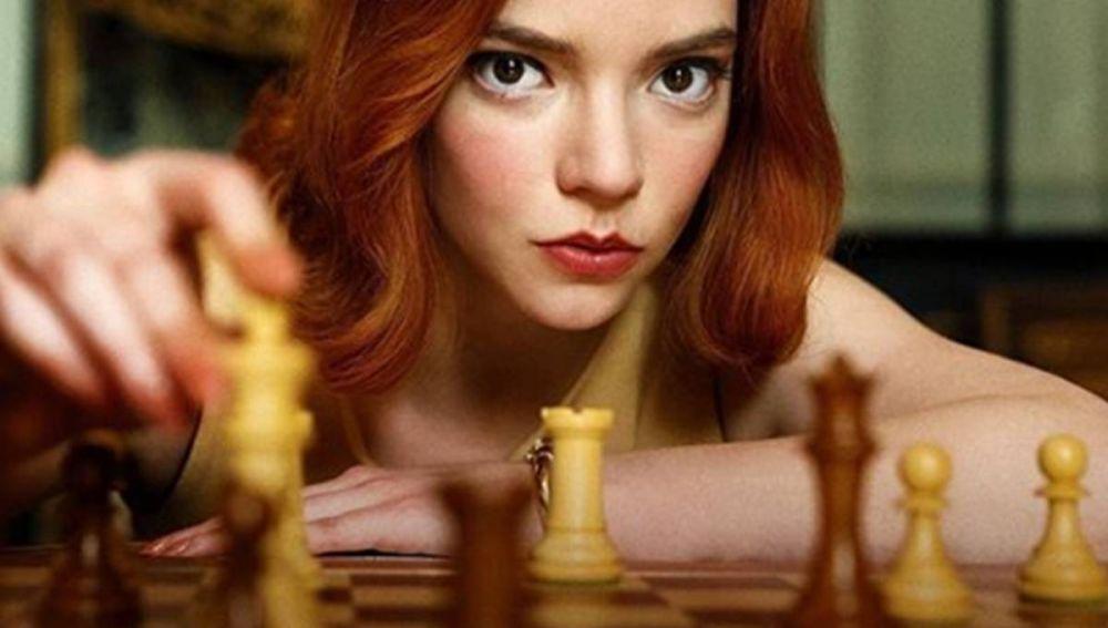 Anya Taylor Joy en 'Gambito de dama'