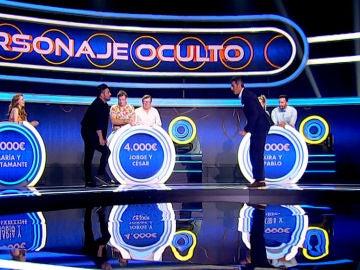 David Bustamante y Jorge Fernández causan furor al ritmo de 'Single ladies' en 'El juego de los anillos'